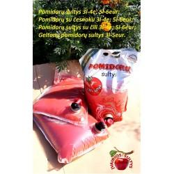 Pomidorų sultys su česnaku 5l